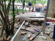 Three pupils were killed and 15 injured after this walkway collapsed at Driehoek high school in Vanderbijlpark February 1, 2019