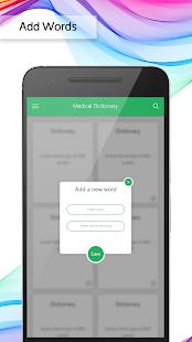 Medical Dictionary Offline free - náhled