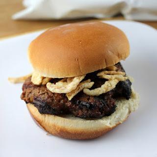 Grilled Ranchero Onion Burgers