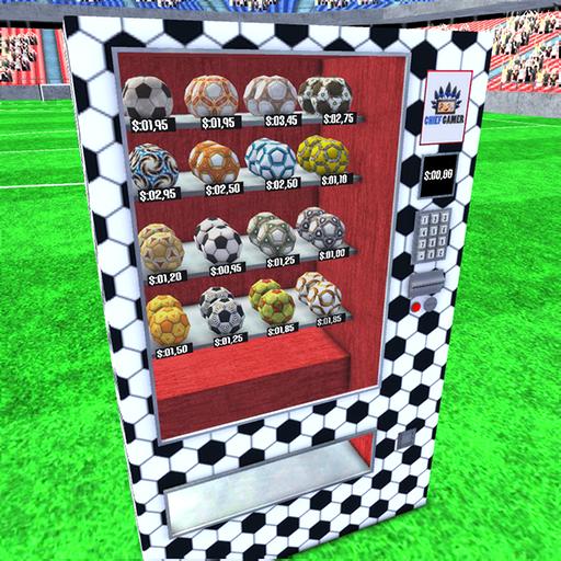 Vending Machine Soccer Ball
