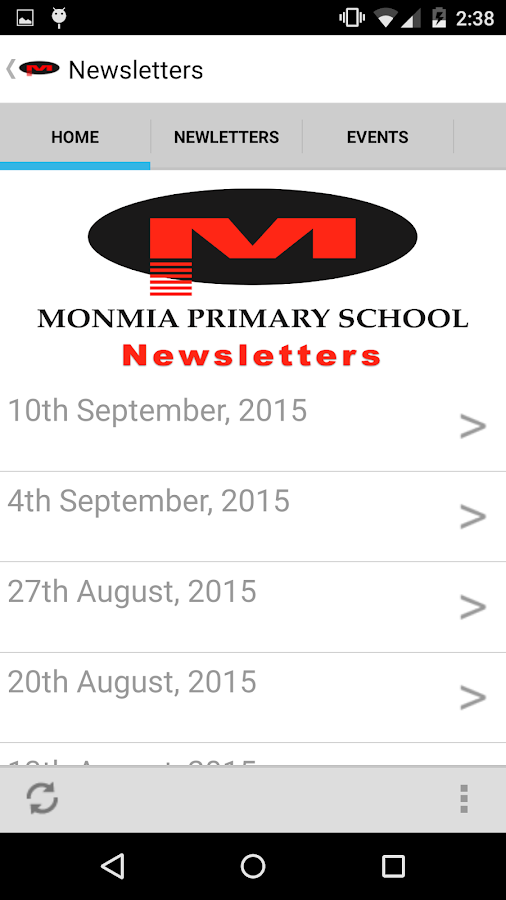 Monmia Primary School- screenshot