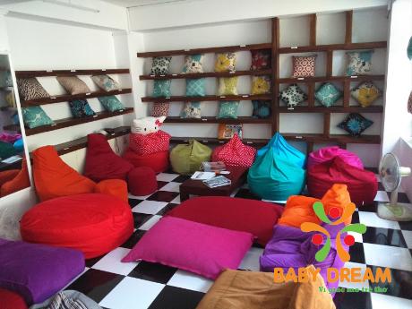 Liên hệ ngay BabyDream nhận tư vấn lựa chọn màu vải gối lười hợp phong cách nhà ở của bạn