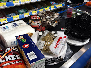 Photo: I grabbed a few more things for the kids and checked out.