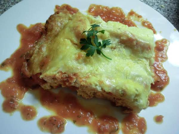 3 Cheese Lasagna W/homemade Marinara Sauce Recipe