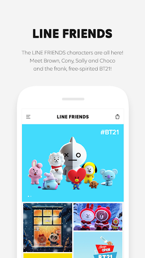 LINE FRIENDS - characters / backgrounds / GIFs 2.1.2 PC u7528 1