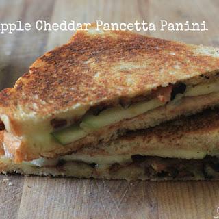Apple Cheddar And Pancetta Panini.
