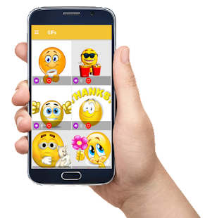 GIFs Emojis - náhled