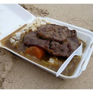 Beef Curry Casserole.