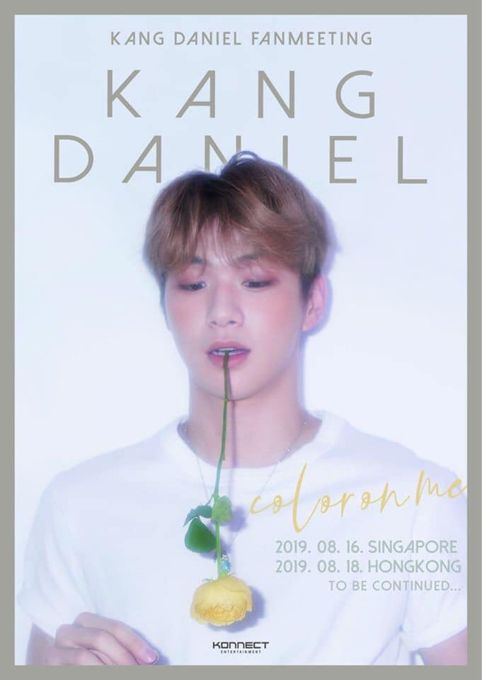 kang daniel fan meeting