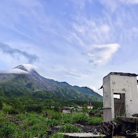 rubble of mount merapi disaster by Dali Aleida - Landscapes Mountains & Hills
