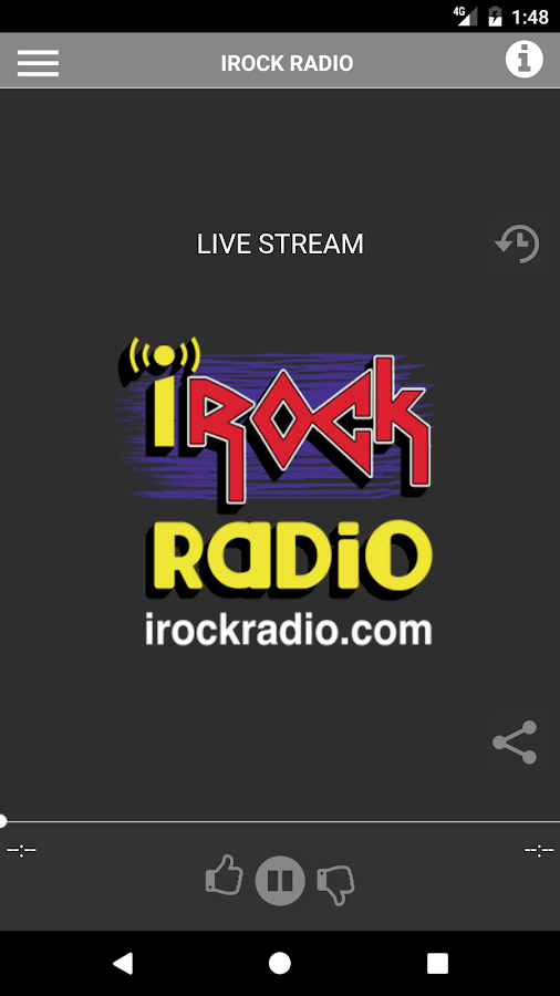 iRock Radio- screenshot