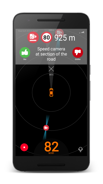 Speed camera radar (PRO) Screenshot 2
