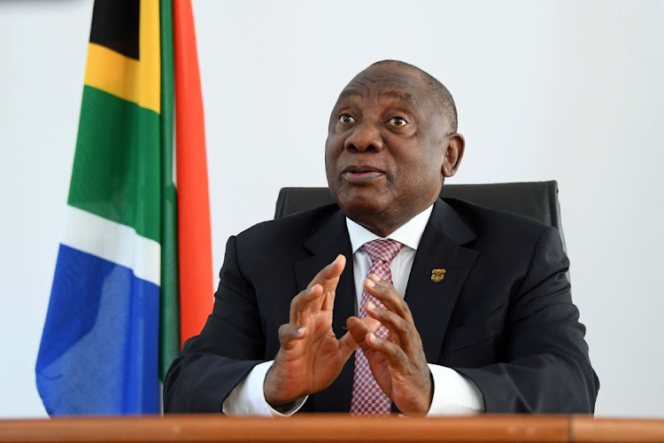 President Cyril Ramaphosa has concluded that the Political Party Funding Act will come into effect on April 1. File photo.