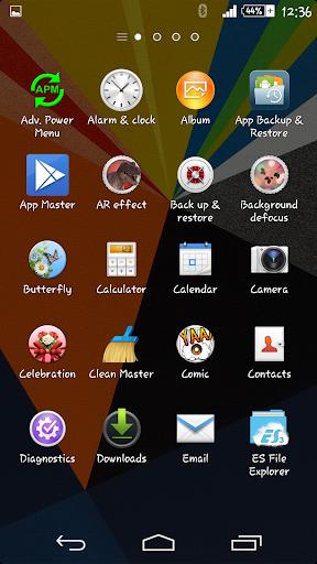 Zig Zag Xperien Theme screenshot 4