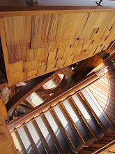 Photo: Looking down the stairs of the lookout tower at Cox Arboretum in Dayton, Ohio.