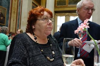 Photo: Verdienstkreuz für Inge M. SCHERER - Verleihung durch Präsident Barbara Prammer am 29.1.2014, Elena Habermann. Foto: Peter Skorepa