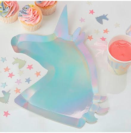 Tallrikar - Make a wish unicorn