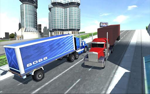 アメリカン 重たいです トラック シミュレータ