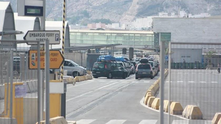 Imagen de archivo del Puerto de Almería.