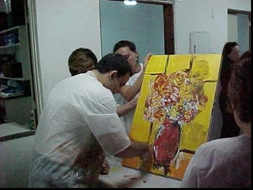 Foto da pintura pronta