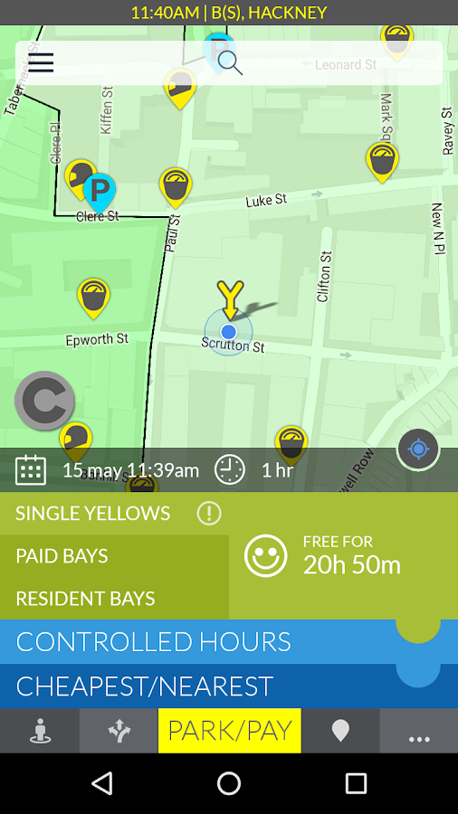 AppyParking- screenshot