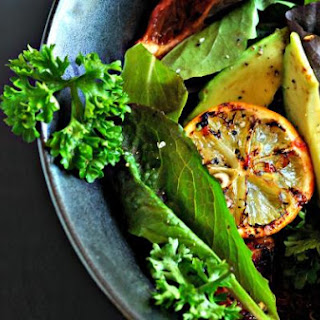 Roasted Orange and Lemon Salad