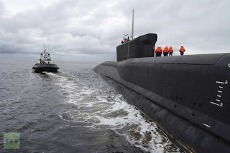 "Photo: 814148 08/17/2009 The nuclear submarine (NS) ""Yuri Dolgoruky"" in the area of the JSC ""Sevmash""./Пресс-служба ОАО ""ПО ""Севмаш"""