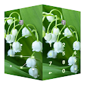 AppLock Theme Lily of the Valley icon