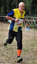 Photo: Sprint finale della gara Long H55 nella quale ho conquistato il mio primo podio (argento)  individuale in un Campionato Italiano (foto di Tonino D'Esposito)