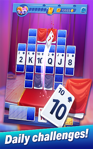Solitaire Showtime: Tri Peaks Solitaire Free & Fun - screenshot