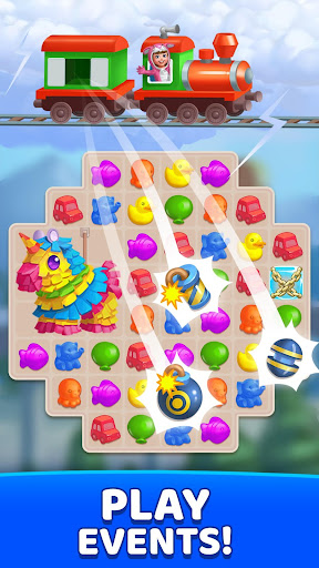 Fun Town: Build theme parks & play match 3 games screenshots 7