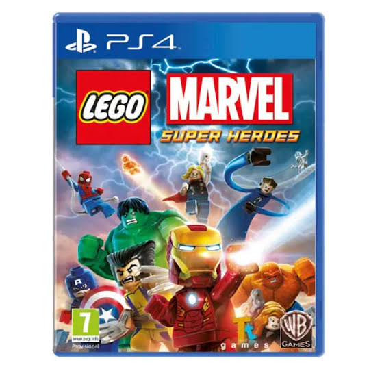 LEGO Marvel Super Heroes PS4 spel