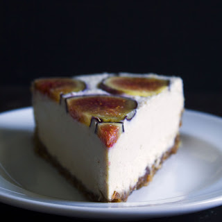 No-Bake Vegan Fig Cheesecake