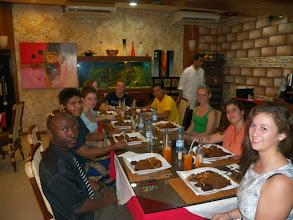 Photo: Last night dinner in Dakar.