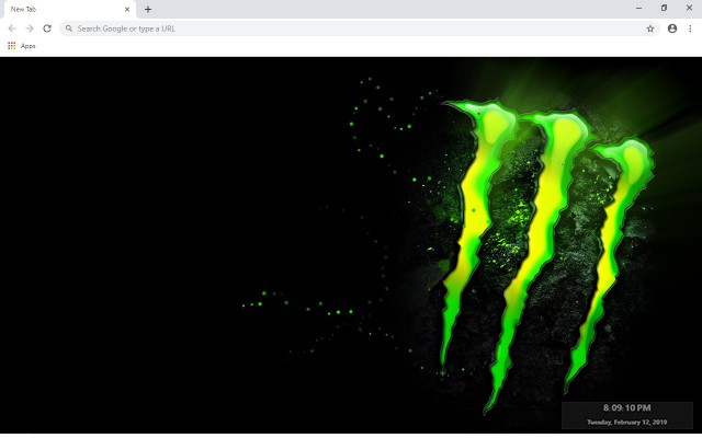 Monster New Tab & Wallpapers Collection