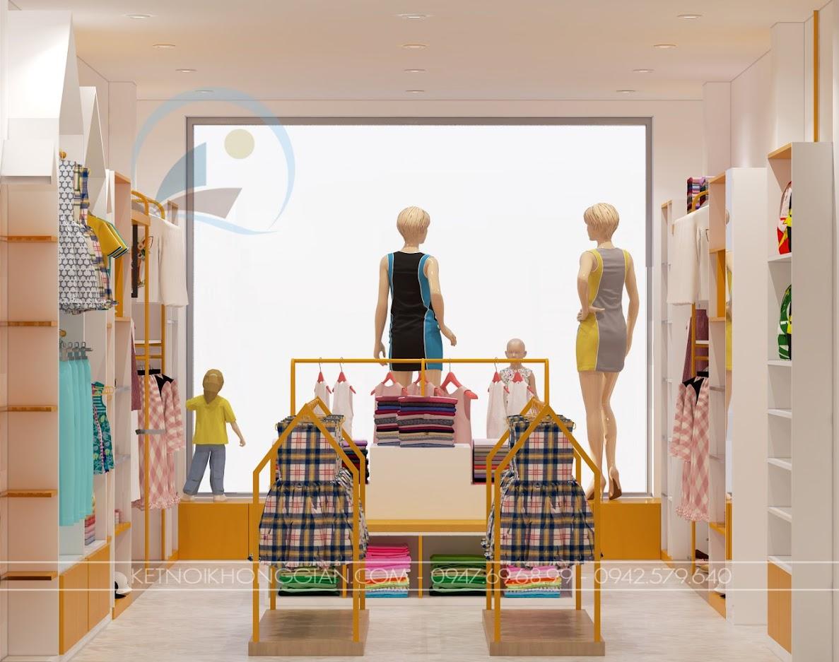 thiết kế shop mẹ và bé nhím store 11