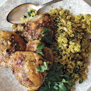 Lemon Roasted Chicken With Moroccan Couscous