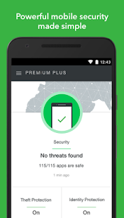 Lookout Security & Antivirus Screenshot