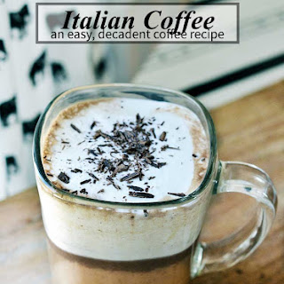 Italian Coffee Recipe (also known as Bicerin)