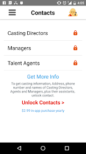 Actor Genie App- screenshot thumbnail
