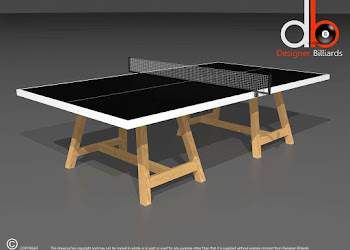 Table with tennis net
