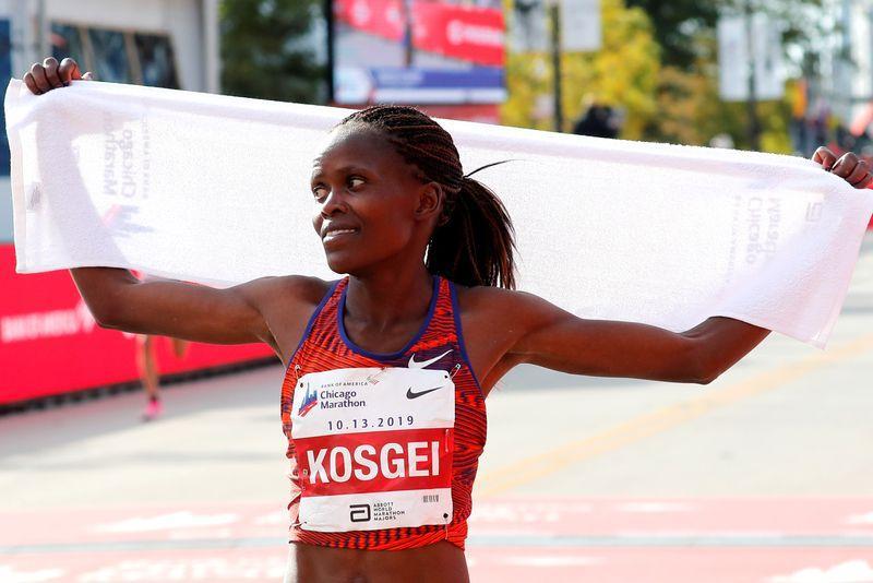 Kosgei targets fast time at Ras Al Khaimah Half Marathon