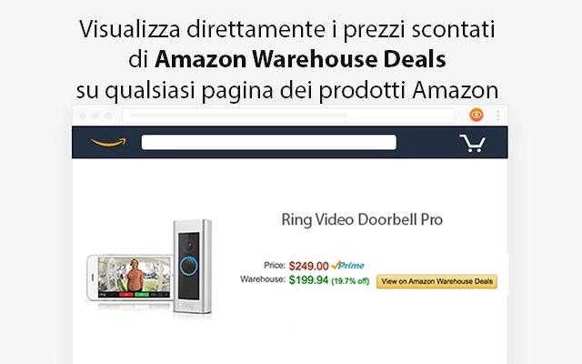 Amazon Warehouse Deals Finder