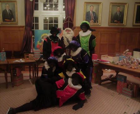 Kinderanimatie tijdens Sinterklaasfeesten