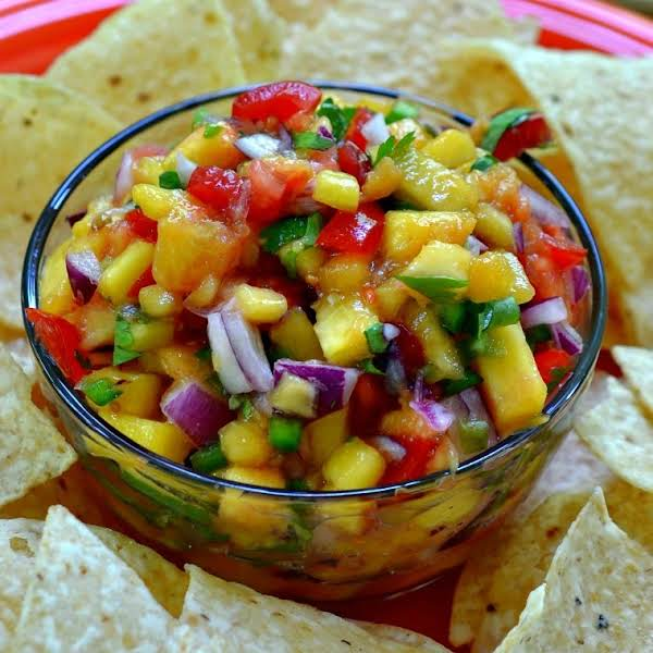 Fresh Peach Salsa Takes Fresh Peaches, Sweet Tomatoes And Spicy Jalapenos To A Whole New Taste Tantalizing Level.