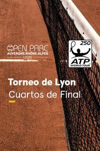 Torneo de Lyon. T. Fritz - R. Bautista Cuartos de Final