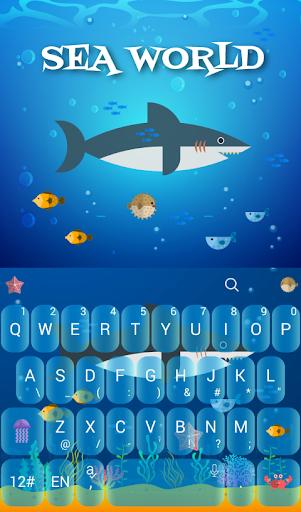 Sea World Keyboard Theme