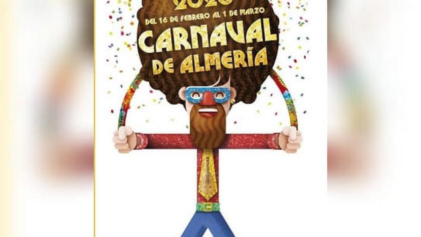Cartel del Carnaval de Almería.