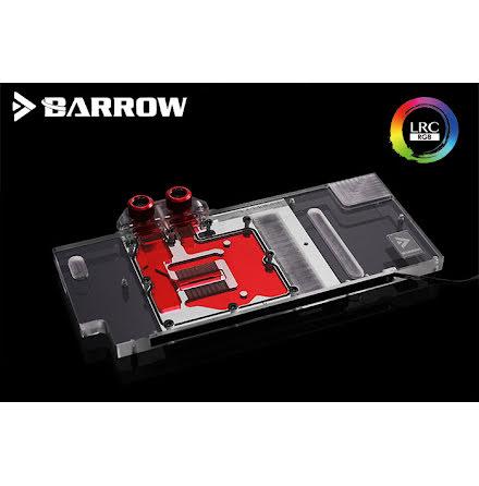 Barrow vannblokk for skjermkort MSI RTX 2070 GAMING Z - Nickel