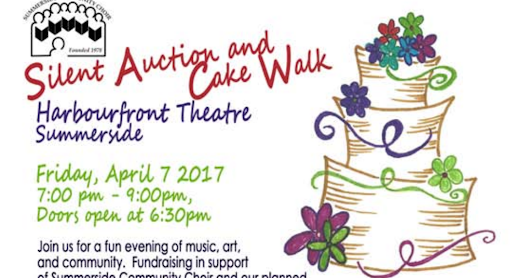 2017-04-07 Cake Walk & Silent Auction at Harbourfront Theatre